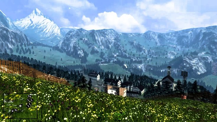 Tyrolean Alps (watch on youtube Farming Simulator Tyrolean Alps Scenery Map V1)