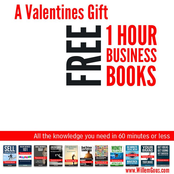 Free 1 Hour Business Books - 11 of them @willemgous http://goo.gl/6wZWIH