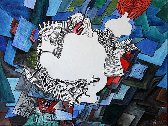 Mondrian elige la Pastilla Roja by chartkov2001, via Flickr