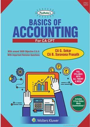 Padhuka's Basics of Accounting #OrderNow @ www.meripustak.com/pid-150913 #PadhukasBasicsOfAccounting, #BasicsOfAccounting, #TheoryAndMCQs, #Theory #MCQs, #OnlineMockExaminations, #Mock #Examinations, #Accounting, #CharteredAccountant, #CA_G_Sekar, #CABooks, #CA #CAIntermediate #CAFinal, #IPCC, #CAIPCC, #CMA, #CMAFinal, #CS, #CMAInter, #AcademicBooks, #ProfessionalBooks, #OnlineBookstore, #BuyBooksOnline in #India