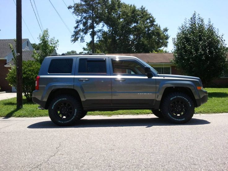 Pin by Sydney Wright on Car Jeep patriot, Lifted jeep