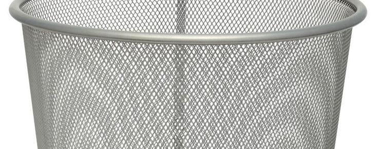 Irodai szemetes kosár kuka fém papír kosár fémhálós papírkosár