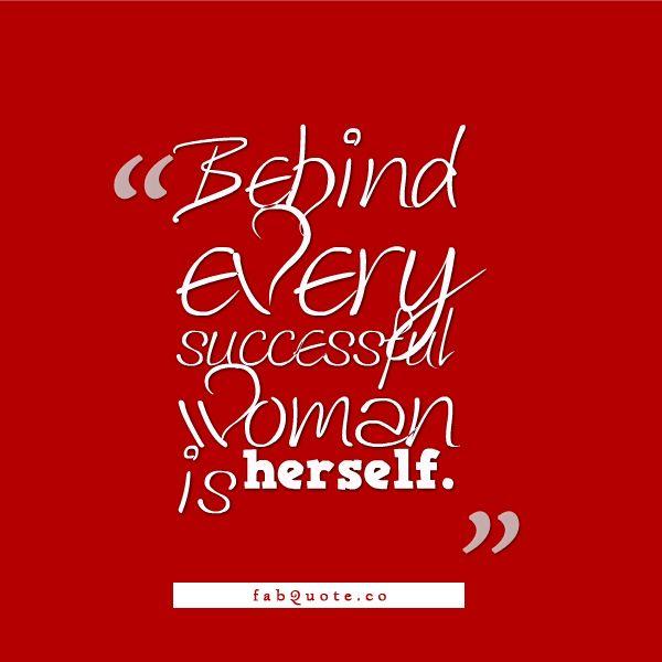 Successful Woman Quote