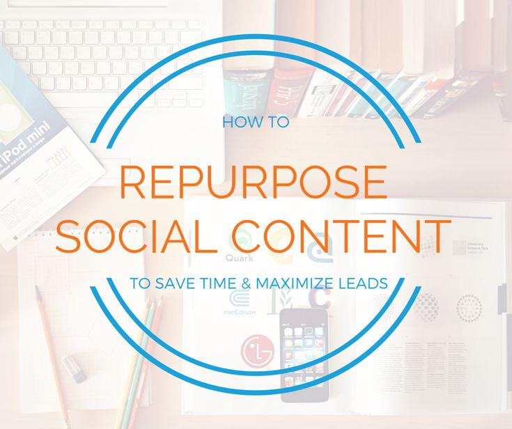 Don't let your content go to waste- repurpose it! Dave & Rebecca explain how to #RecycleYourMarketing in this On Demand Webinar.