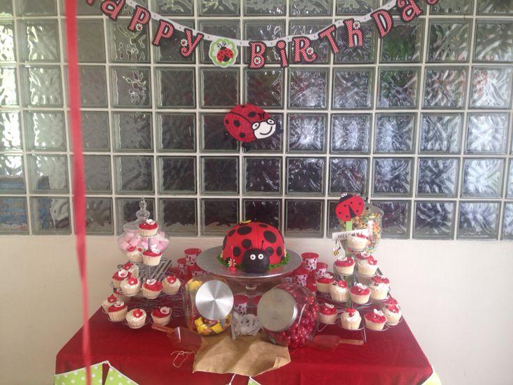 Ladybug candybuffet
