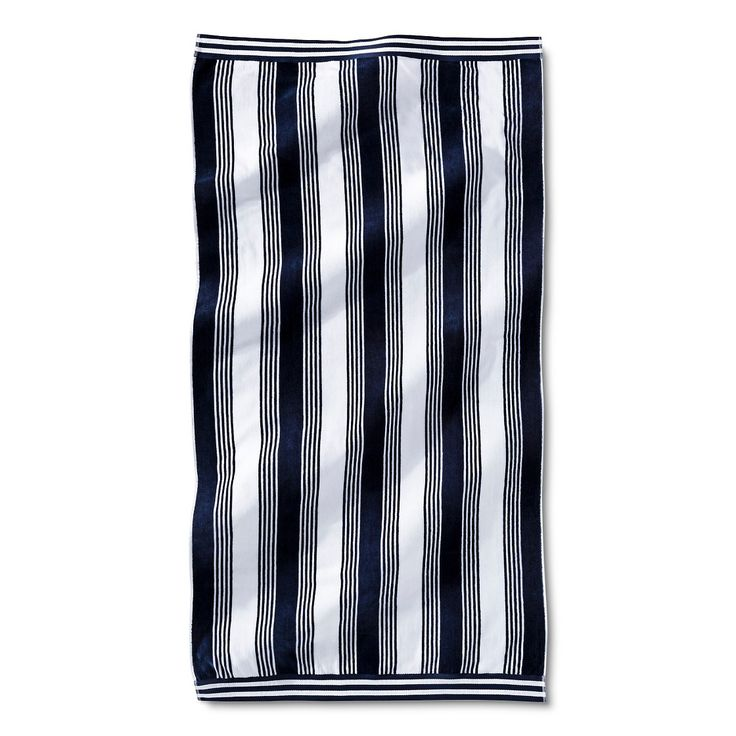 Fieldcrest Luxury Towel Price: Fieldcrest Luxury Abigail Stripe Sheared Beach Towels