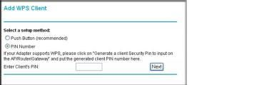 Using PIN Entry to Add a WPS Client #xfinity #wps http://tanzania.remmont.com/using-pin-entry-to-add-a-wps-client-xfinity-wps/  # Using PIN Entry to Add a WPS Client Any wireless computer or wireless adapter that will connect to the modem router wirelessly is a client. The client must support a WPS PIN, and must have a WPS configuration utility, such as the NETGEAR Smart Wizard or Atheros Jumpstart. The first time you add a WPS client, make sure that the Keep Existing Wireless Settings check…