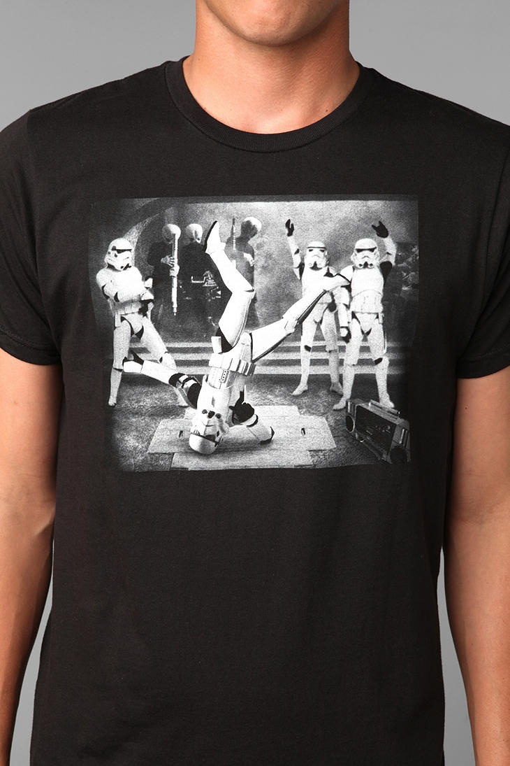 Breakdancing Stormtroopers Tee, buying this for dad!!!