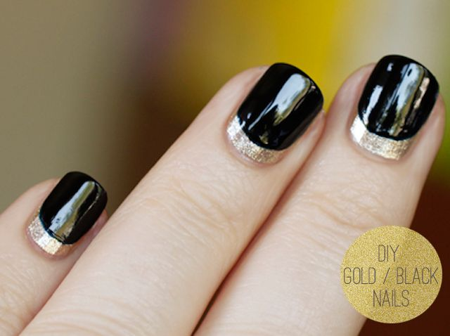 black and gold/silver