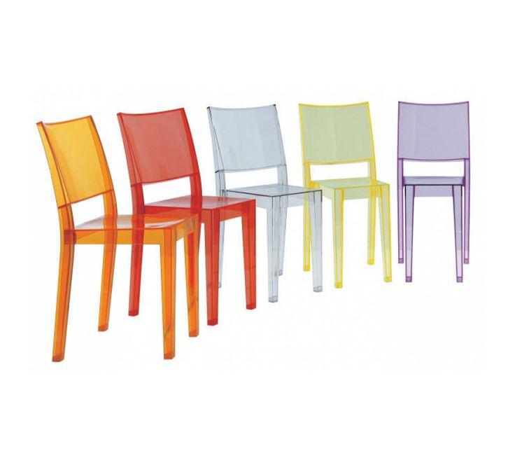 Kartell - Sedia La Marie | Design: Philippe Starck | Anno: 1998 | Materiali: Policarbonato Trasparente | #design #multicolour