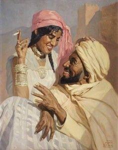 Étienne Dinet (1861-1929) Les amoureux