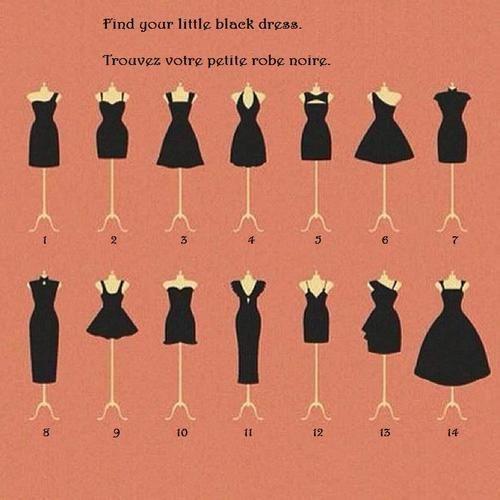 How to wear a little black dress ~ fashion in my eyes #LBD