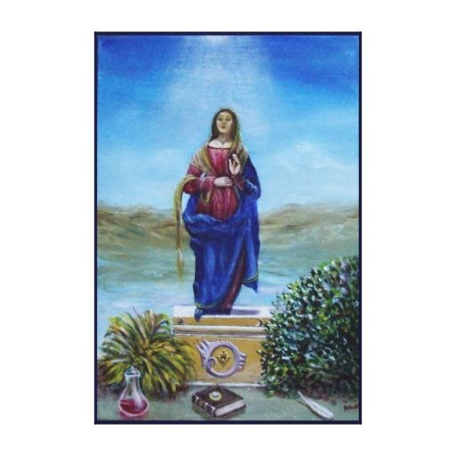 OUR LADY OF LIGHT CANVAS PRINTS
