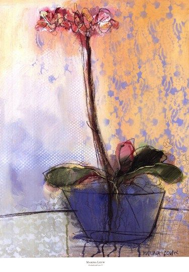 Marina Louw Orchid and Lace II