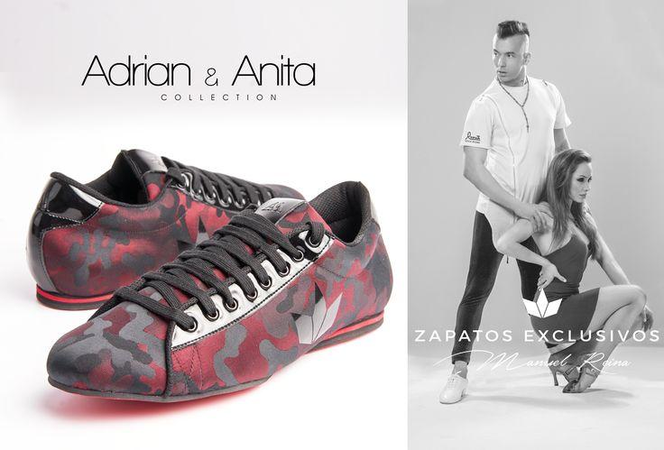 La colección de zapatos de los 6 veces campeones del mundo de salsa!!!!! 😍❤️❤️ 😊🤗 Los campeones solo calzan Reina #tuchicoysuszapatos #bailaconmigo #PegadosSeSienteMas #enpareja #danielydesireecollection #quierounosiguales #zapatosdebaile #zapatosdecolores #zapatashechosamano #amorporelbaile #exclusiveshoes #bachata #shoesmen #adrianyanita Adrián y Anita Adrian Rodriguez Carbajal Anita Santos Rubin II