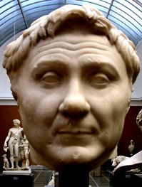 Ritratto di Pompeo, copia del I secolo a.C.Probabilmente era parte di una statua.Oggi conservato presso   Copenhagen.