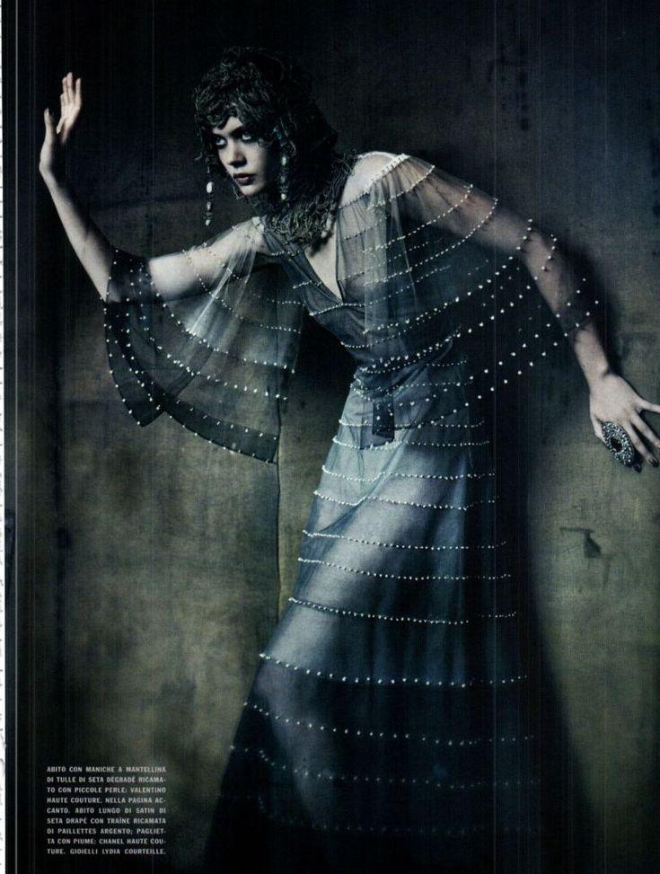 """The Haute Couture"" : Frida Gustavsson & More : Vogue Italia September 2011 : Paolo Roversi"