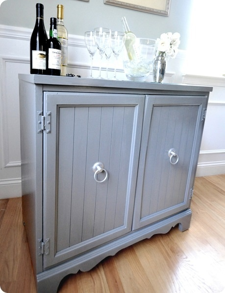 Diy Wine Bar Doing This With The Leftover Cabinet From