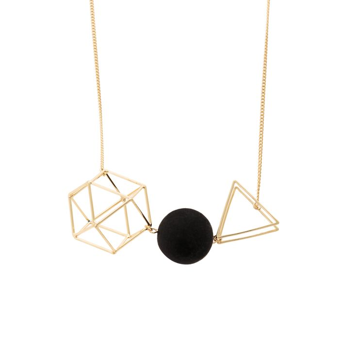 Buy the Rizzi Geo Shapes Necklace at Oliver Bonas. Enjoy free worldwide standard delivery for orders over £50.