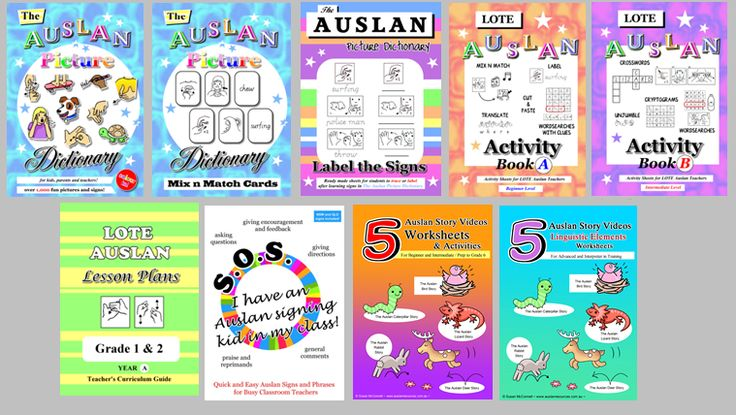Auslan Resources and Fonts