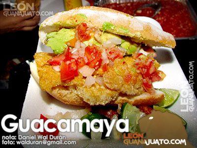 Receta La Guacamaya de León, Guanajuato