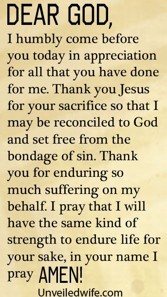 Prayer Of The Day – A Heart Of Thankfulness by @Unveiled Wife