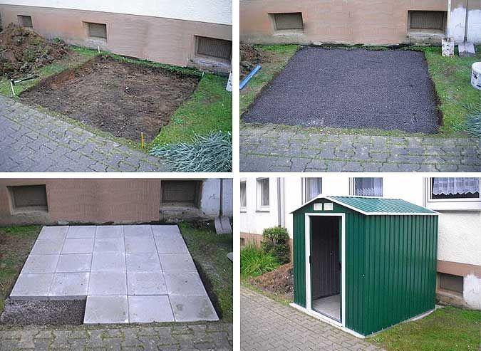 Luxury Das richtige Fundament f r Ihr Gartenhaus