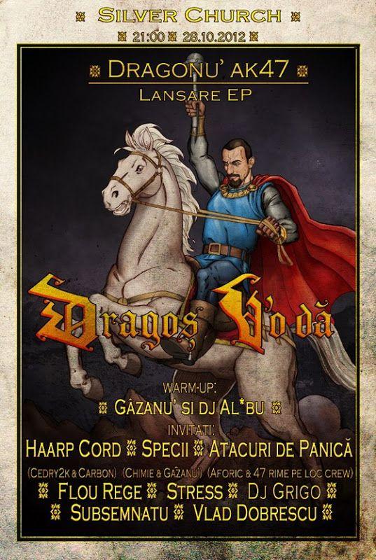 "Dragonu AK47 - Lansare album ""Dragoş V'o Dă"""