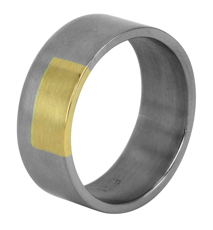 Small rectangular wedding ring