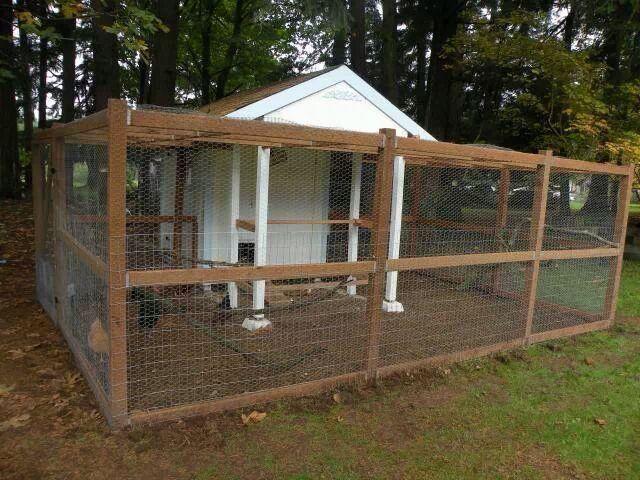 Free Range Chicken Coop!!