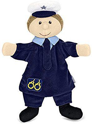 Sterntaler 3601645 - Handpuppe Polizist, blau
