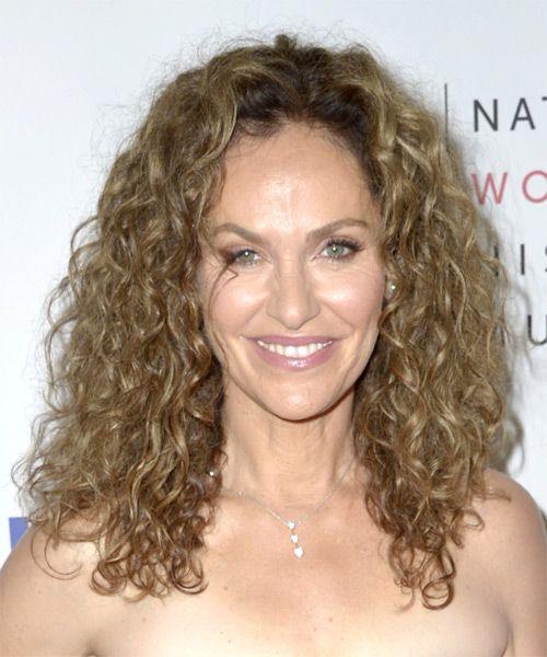 Amy Brenneman Long Curly Casual