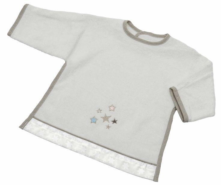 Ärmel-Lätzchen mit Klett Kollektion Glitzer -Sterne