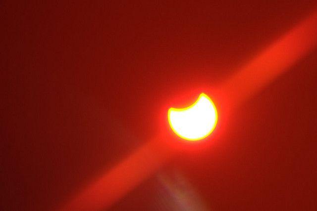 https://flic.kr/p/59ywnC | Zaćmienie słońca | Częściowe zaćmienie słońca z dnia 1 sierpnia 2008 nad Stawiskami