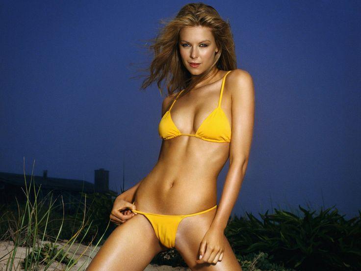 Girl in a yellow bathing suit desktop wallpapers free ...