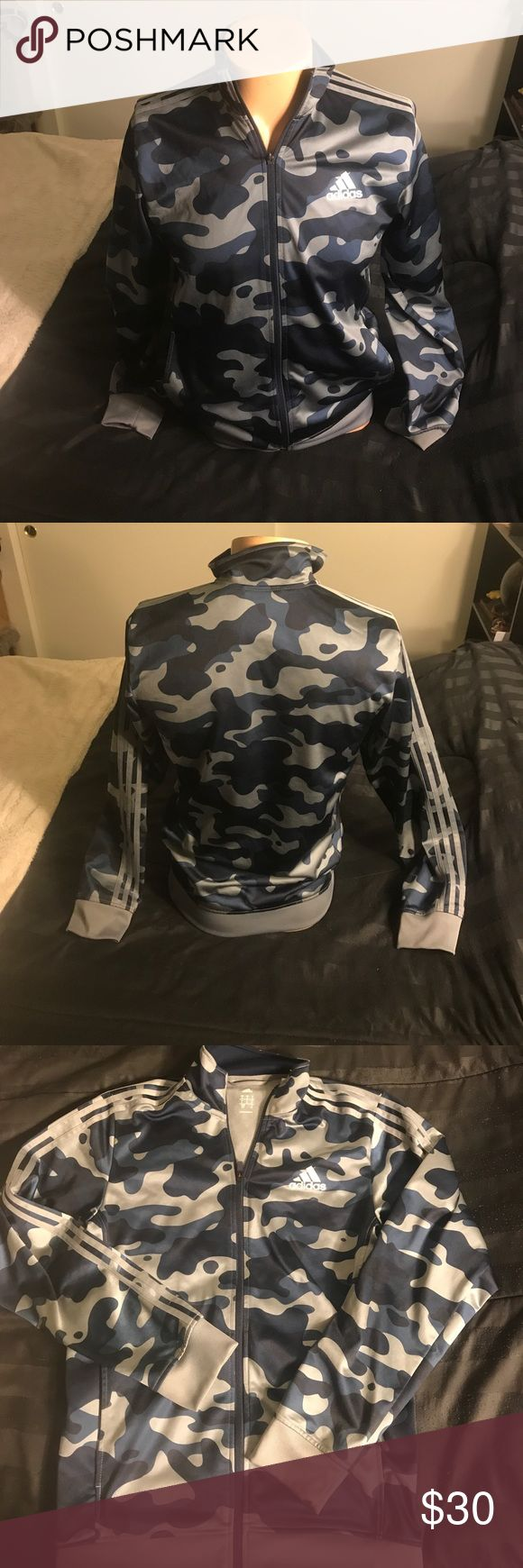 Adidas Camo Jacket Adidas camouflage jacket (will accept best offer) adidas Jackets & Coats Lightweight & Shirt Jackets