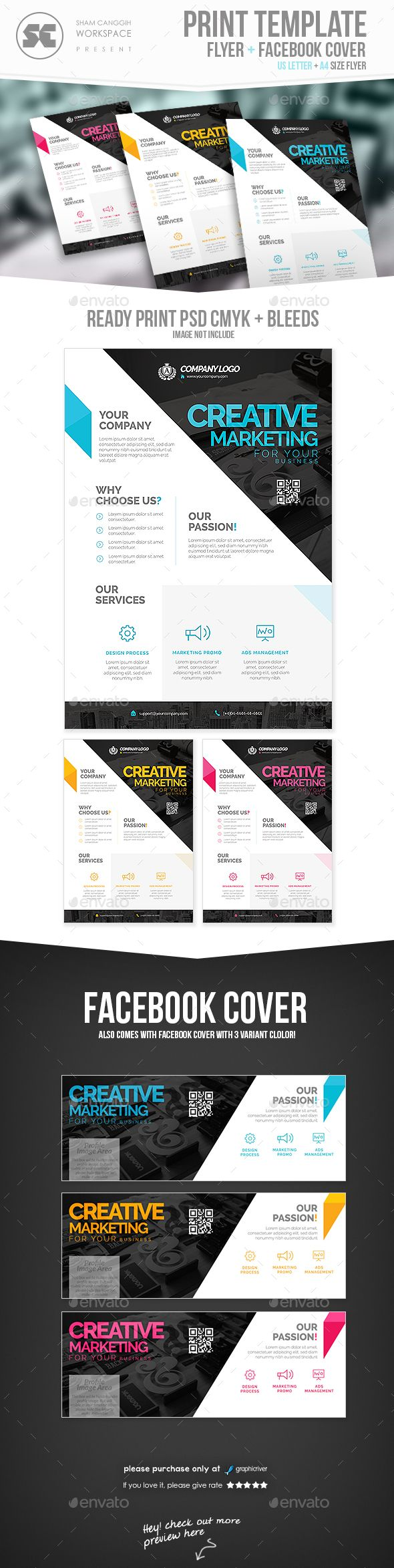 Corporate Flyer Template PSD #design Download: http://graphicriver.net/item/corporate-flyer/14277364?ref=ksioks