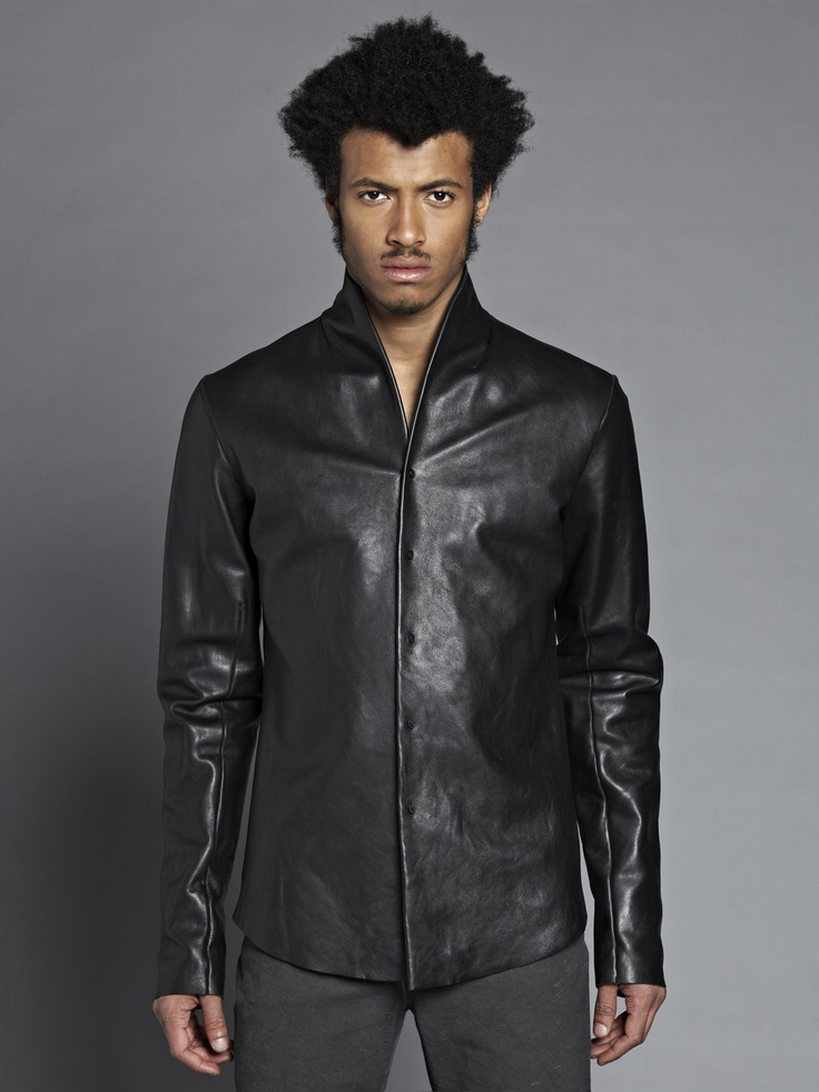 47 best images about skinnskjortor on pinterest biker for Mens shirts with leather