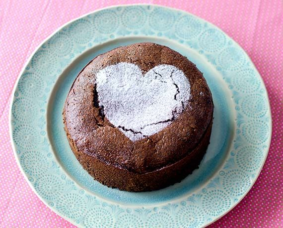 Flourless Poppy Seed Chocolate Cake
