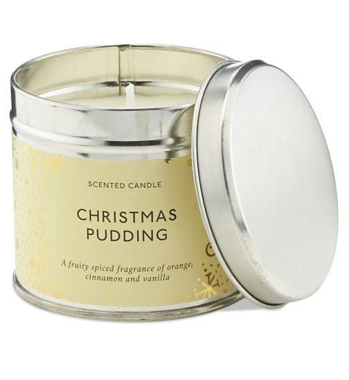 Buy Boots Fragrance Christmas Pudding Candle Tin | Christmas Gift - Boots