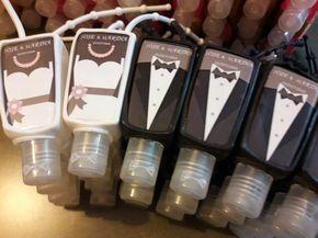 recuerditos personalizados boda gel antibacterial