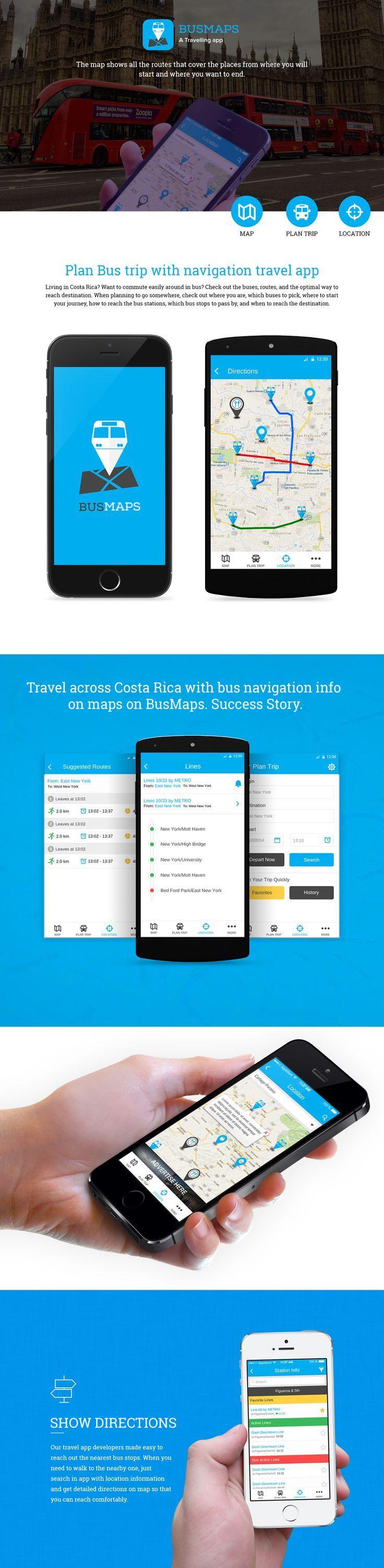 Navigation Travel App on Behance