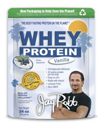 "Interested in Jay Robb whey protein, but not sure if it's a ""good"" supplement? Check out my fair and balanced review. There's Pros and Cons to consider."