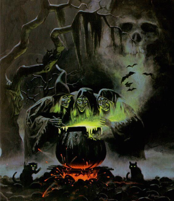 probably my all time favorite halloween image this is halloween the backside art of the halloween horrors album sounds of halloween - Halloween Witchcraft