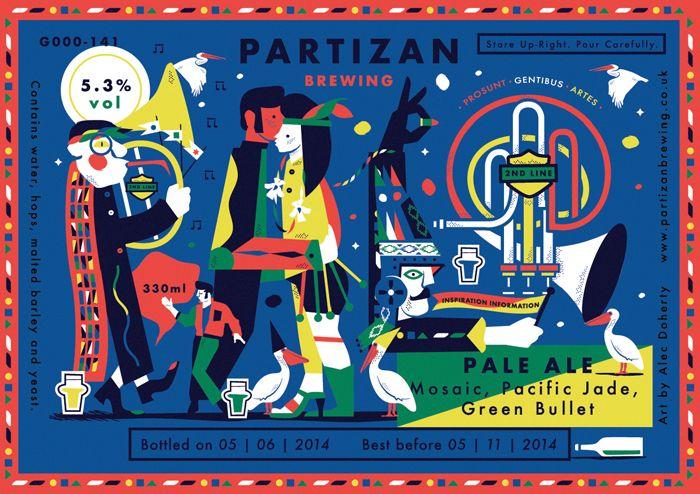 Partizan Brewing - Pale Ale G000-141