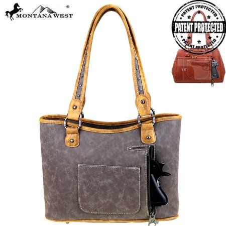 MW411G-8005  Montana West Concealed Handgun Collection Tote