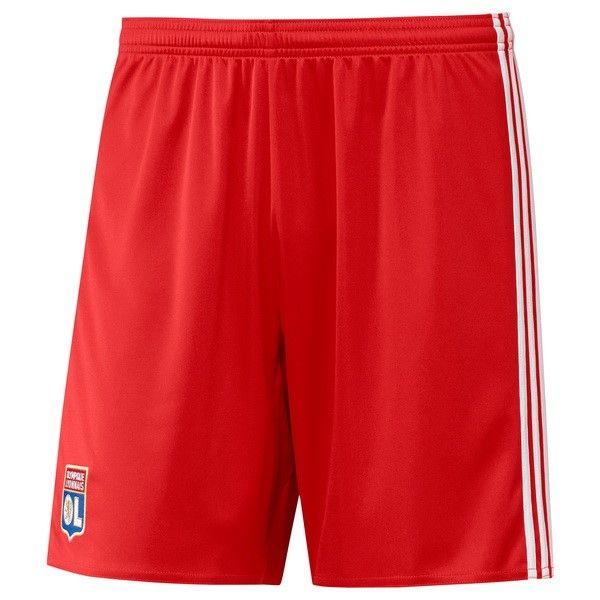 Nueva Replicas Segunda Pantalones Lyon 2017 2018 Rojo