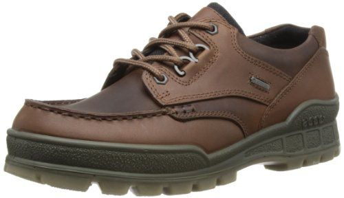 ECCO Men's Track II Low Gore-Tex Oxford,Bison/Bison,46 EU (US Men's 12-12.5 M) - http://authenticboots.com/ecco-mens-track-ii-low-gore-tex-oxfordbisonbison46-eu-us-mens-12-12-5-m/