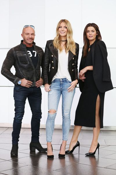 Cheyenne Tozzi Photos - Fashion designer Alex Perry, Jennifer Hawkins (C) and Cheyenne Tozzi pose at Australia's Next Top Model Season 10 auditions at The Deakin Edge on September 30, 2015 in Melbourne, Australia. - Australia's Next Top Model Season 10 Auditions