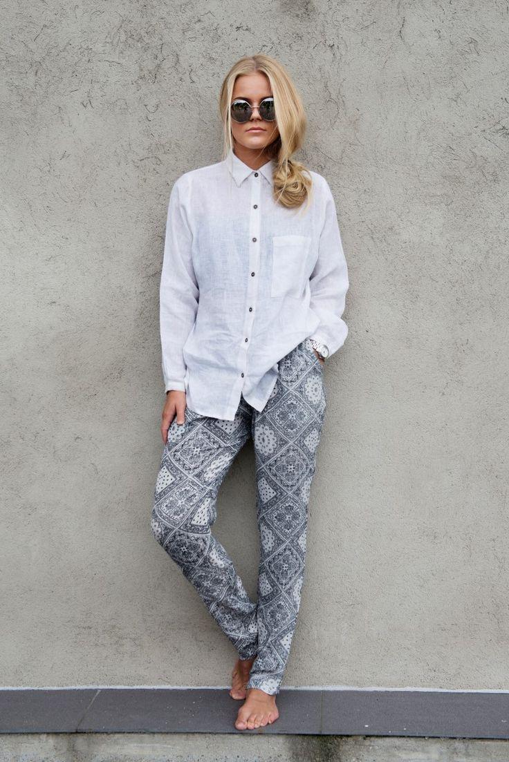 MISSMAYA Linen Shirt